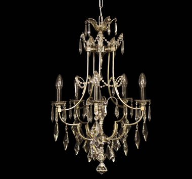 Silver Antique Chandeliers