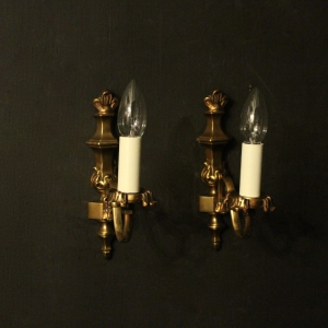 French Pair Of Single Wall Lights